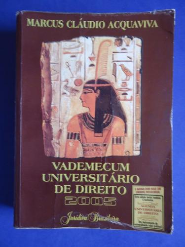 livro - vademecum universitário de direito marcus cláudio a
