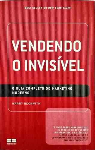 livro vendendo o invisível - usado