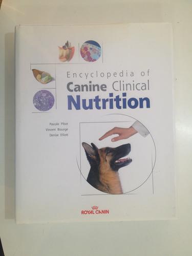 livro veterinária enciclopédia canina nutrição royal canina