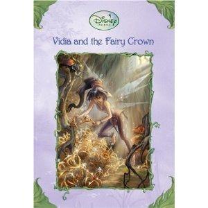 livro vidia and the fairy crown (disney fairies )