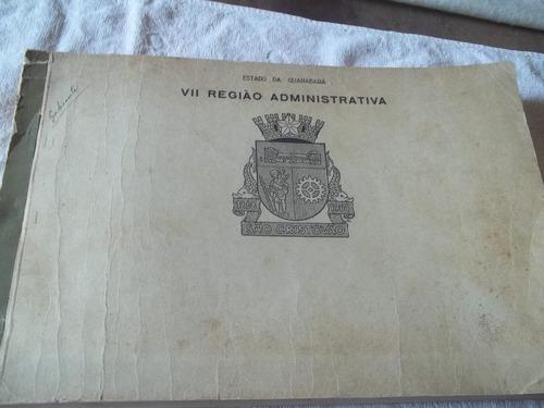 livro vii região administrativa guanabara datilografado