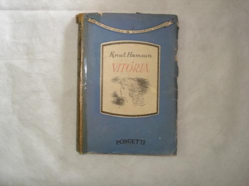 livro - vitória - knut hamsun