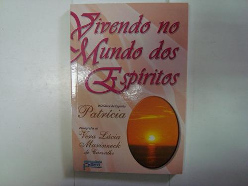 livro - vivendo no mundo dos espíritos - patrícia