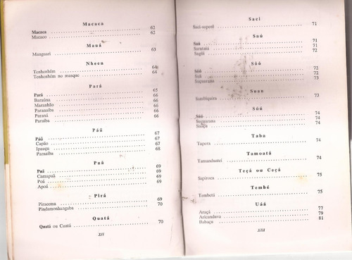 livro vocabulário nheengatu afonso a.de freitas 1976