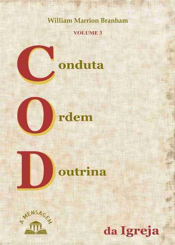 livro vol 3 conduta, ordem, doutrina da igreja por branham