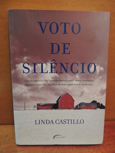 livro voto de silêncio linda castillo