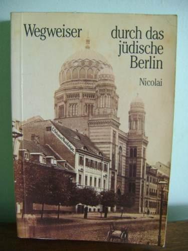 livro wegweiser durch das jüdische berlin guia judaico