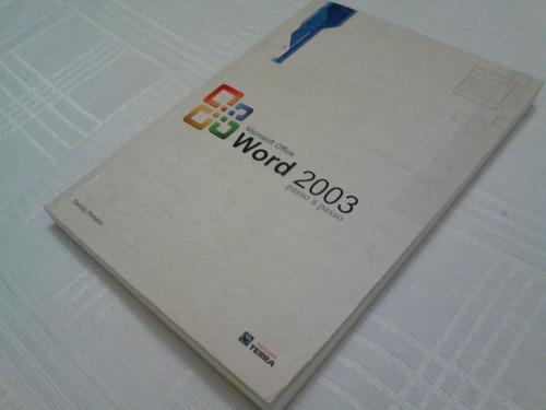 livro - word 2003 passo a passo