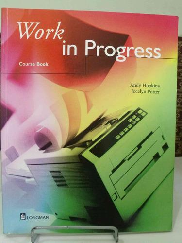 livro - work in progress - course book - andy hopkins