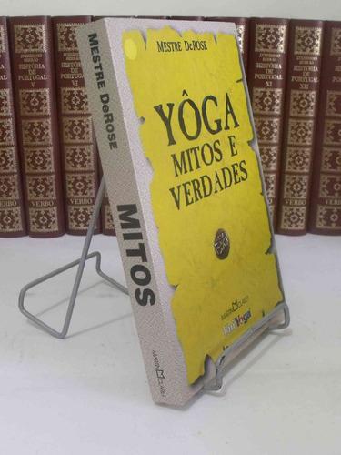 livro - yôga - mitos e verdades - mestre derose