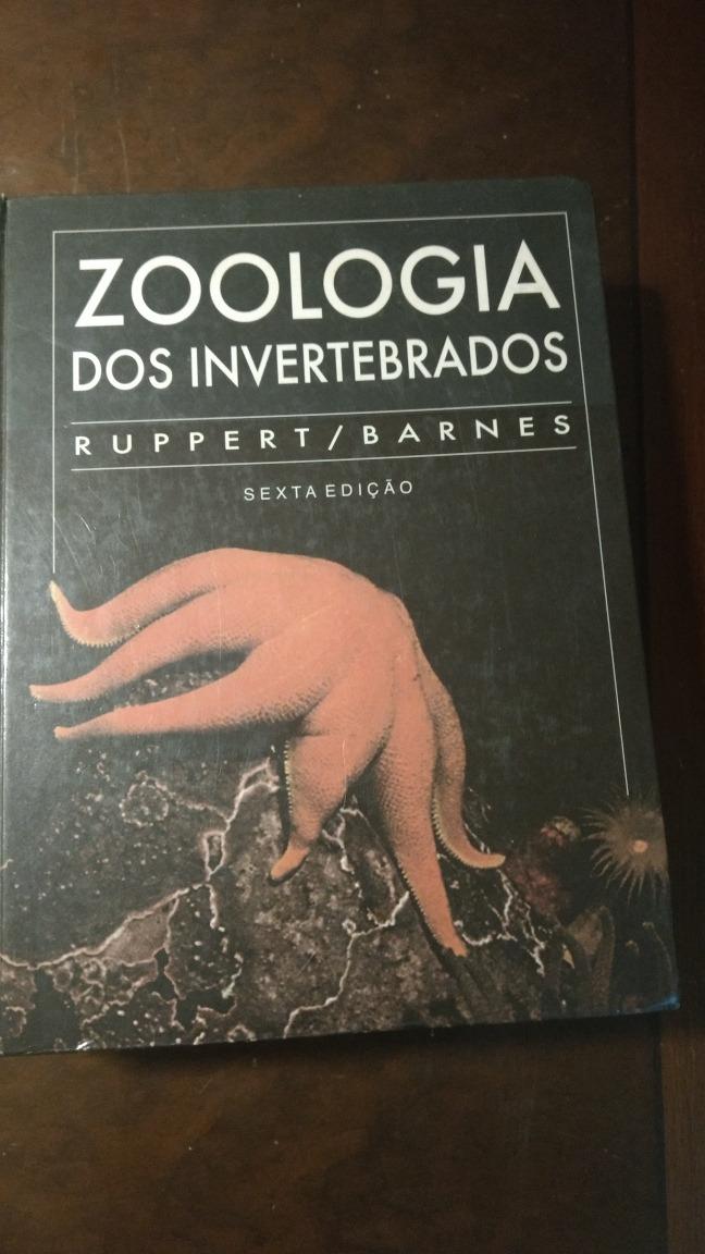 livro zoologia dos invertebrados ruppert