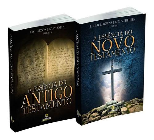 livros a essência do antigo e do novo testamento