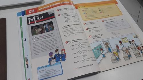 livros action 3, action 4 e action 5 cultura inglesa