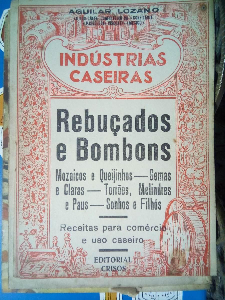 Livros Antigo Raro De Receita Rebuçados E Bombons Anos 60