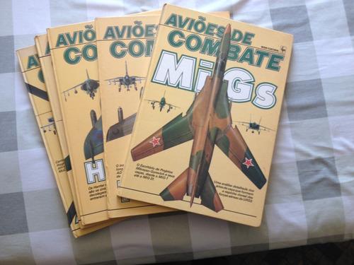 livros avioes de combate - diversos