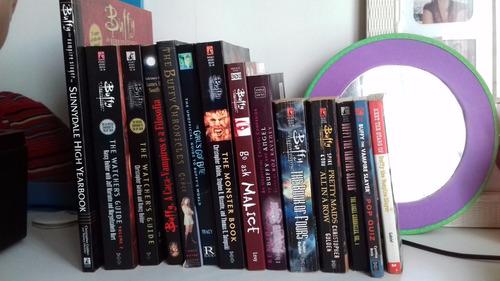 livros buffy a caça vampiros, importados (em inglês)