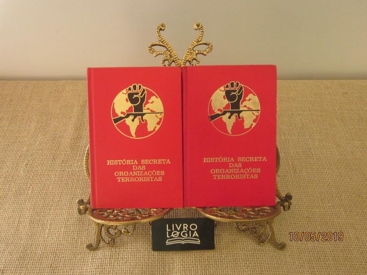 9fcb54bff Livros Coleção História Secreta Das Organizações Terroristas - R  50 ...