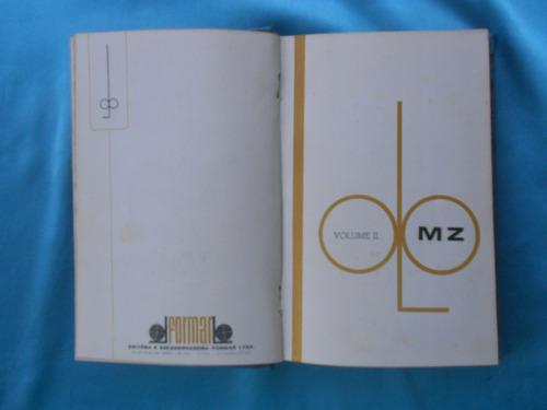 livros compostos de 3 vol dicionário com ilustrações