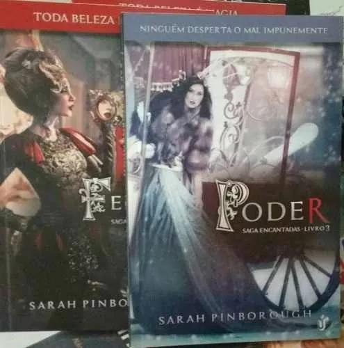 livros: feitiço e poder (saga encantadas)