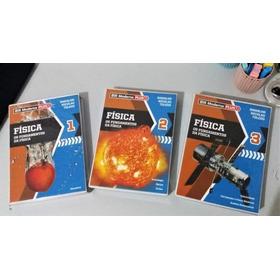 Livros Física 3 Volumes Ensino Médio Editora Moderna Plus