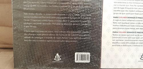 livros geração de valor 1 + 2 kit (lacrados) flávio augusto