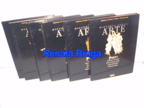 livros história geral da arte pintura 6 volumes