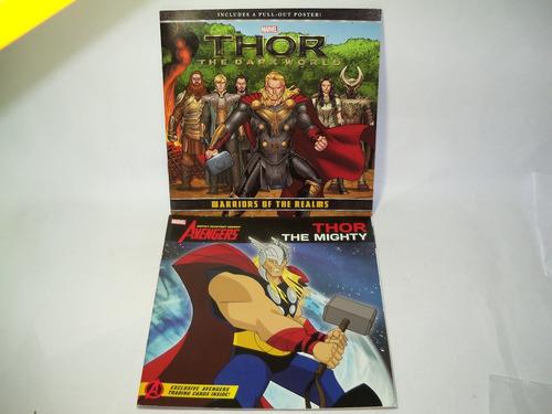 livros infanto juvenis em inglês - thor the mighty e dark