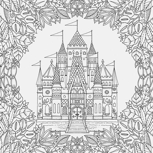 Livros Jardim Secreto E Floresta Encantada Lapis Cor 36