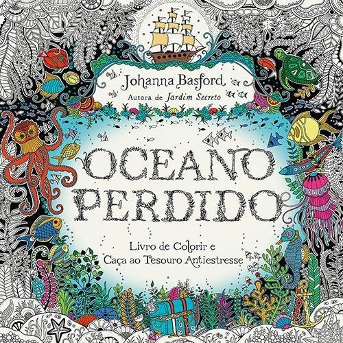livros jardim secreto + floresta + reino + oceano perdido