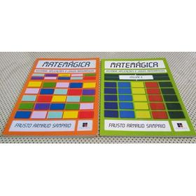 Livros Matemágica Volumes 1 E 2 - Jogos Matemáticos