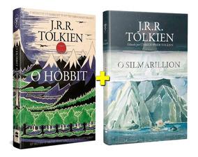 041ad028315462 Kit Livros O Silmarillion + O Hobbit Ed Exclusiva Tolkien