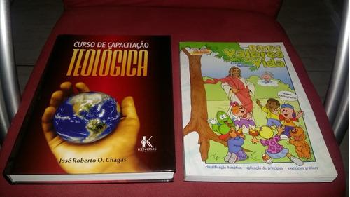 livros para estudo teilogico e aprendizado biblico