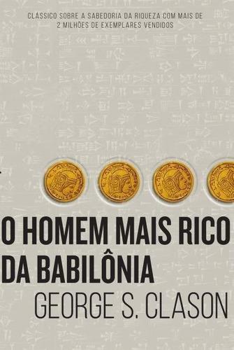 livros quem pensa enriquece + o homem mais rico da babilônia