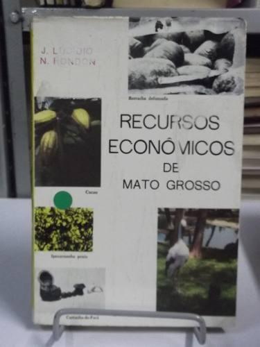 livros - recursos econômicos de mato grosso