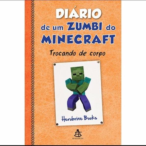 livros rezendeevil + diário mineceaft