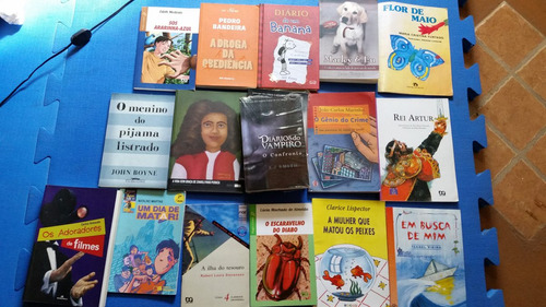 livros variados