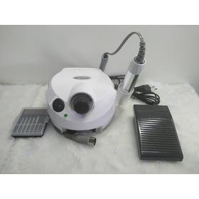 Lixa Eletrica Nail Branca Bivolt 30.000 Rpm