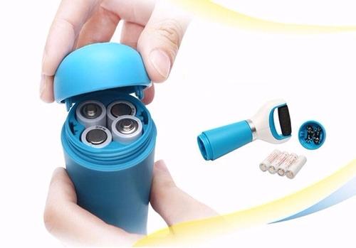 lixa elétrica pedicuro esfoliante lixadeira de pé tipo amopé