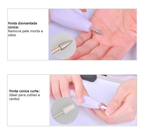 lixa unha para manicure