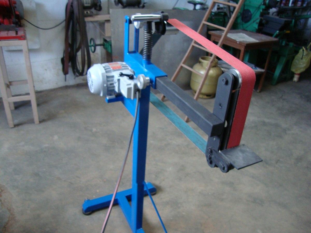 lixadeira de cinta para cutelaria  e trabalhos em geral