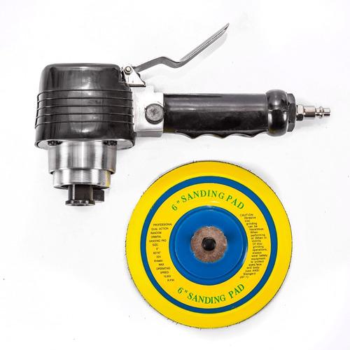 lixadeira orbital pneumática de 6   -  máquinas ribeiro