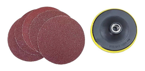 lixadeira politriz 5 pol wp600k 220v black & decker