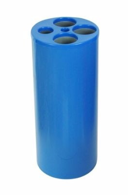 lixeira de copos com 5 tubos para copos de agua/cafe e16