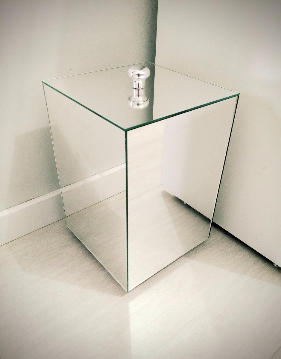 Lixeira Espelhada De Banheiro Ou Lavabo Tampa Embutida  R$ 179,99 em Mercado -> Banheiro Pequeno Onde Colocar A Lixeira