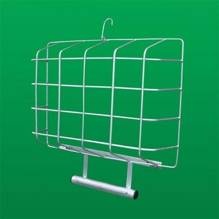 lixeira externa para muros ou grades suporte para lixo (181)