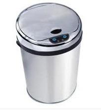 lixeira inox automática sensor 42 litros