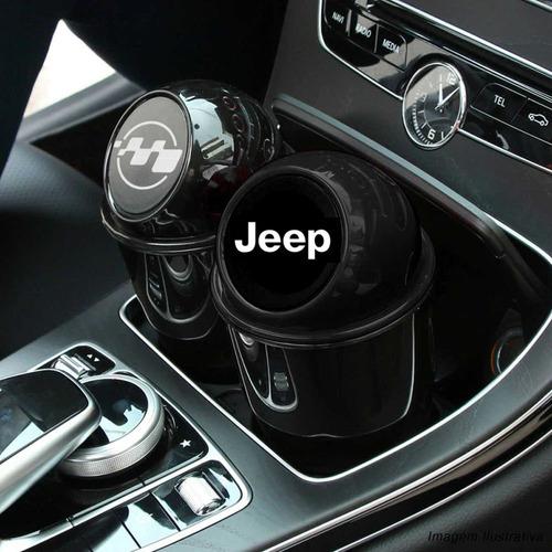 lixeira jeep acessorios renegade compass cherokee wrangler