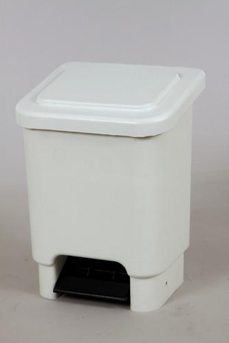 lixeira marfinite 15 litros marfinite (branca)