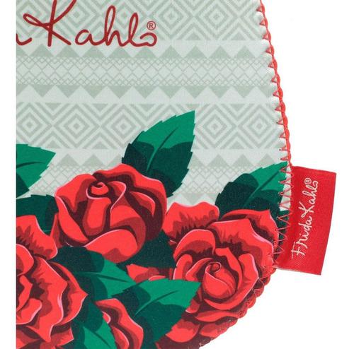 lixeira para carro frida kahlo red roses