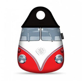 Lixeira Para Carro Kombi Vermelha Vintage